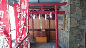初音森神社儀式殿 拝所