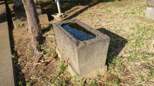 西熊野神社 嘉永3年水鉢