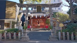 江島杉山神社 二の鳥居