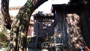 元宿堰稲荷神社 本殿
