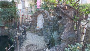 江島杉山神社 弁財天像と美玉洗