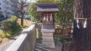 元宿堰稲荷神社 元宮祠 (1)