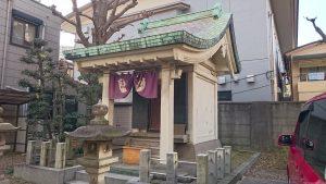 初音森神社 社殿