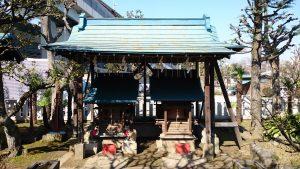 隅田川神社 三財稲荷神社・若宮八幡神社