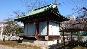 隅田川神社 神楽殿