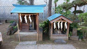 隅田川神社 祭神不明小祠
