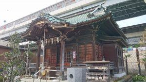 隅田川神社 拝殿