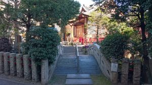 江島杉山神社 太鼓橋