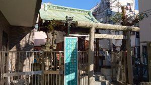 深川稲荷神社 拝殿