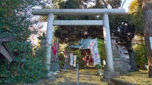上高田氷川神社 三の鳥居
