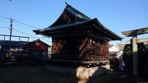 上高田氷川神社 神楽殿