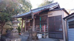 元宿堰稲荷神社 拝殿