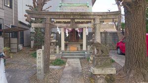 初音森神社 二の鳥居