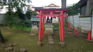 春日神社(練馬区春日町) 稲荷神社 鳥居