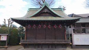 志茂熊野神社 神楽殿