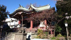 千住本氷川神社 拝殿