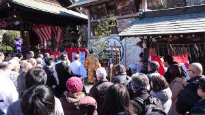 志茂熊野神社 白酒祭(オビシャ行事)神事式