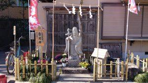 元宿神社 寿老神尊像