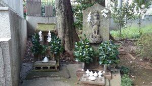 春日神社(練馬区春日町) 青面金剛像