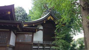 春日神社(練馬区春日町) 本殿