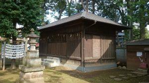春日神社(練馬区春日町) 絵馬殿
