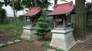 春日神社(練馬区春日町) 三峯神社・第六天神社