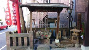 五柱稲荷神社 手水舎
