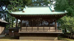 春日神社(練馬区春日町) 神楽殿