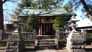 千住大川町氷川神社 拝殿