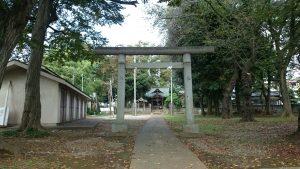 春日神社(練馬区春日町) 鳥居