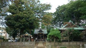 春日神社(練馬区春日町) 境内
