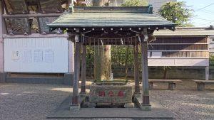志茂熊野神社 手水舎