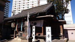 元宿神社 拝殿