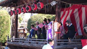 志茂熊野神社 白酒祭(オビシャ行事)白酒節奉納
