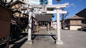 元宿神社 鳥居