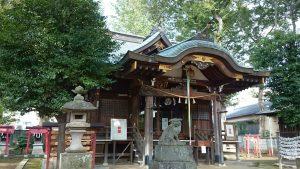 春日神社(練馬区春日町) 拝殿