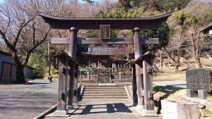 氷川神社(高尾町) 二の鳥居