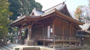 二宮神社(小河大明神) 拝殿