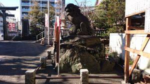 河原町稲荷神社 狛犬 阿