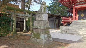 野毛六所神社 狛犬 吽