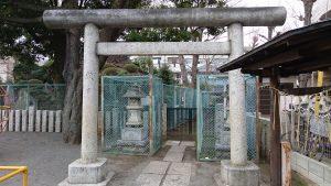 豊島区高松浅間神社 鳥居