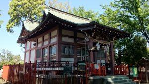 稲城青渭神社 拝殿