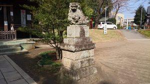 二宮神社(小河大明神) 狛犬 阿