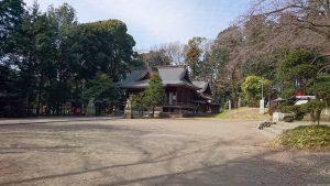 二宮神社(小河大明神) 境内