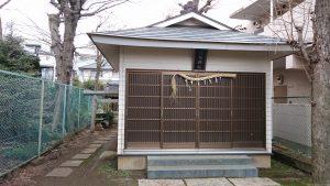 豊島区高松浅間神社 社殿