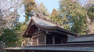 二宮神社(小河大明神) 本殿