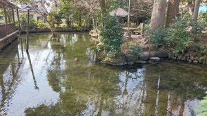 二宮神社(小河大明神) 御手洗池