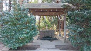 二宮神社(小河大明神) 手水舎