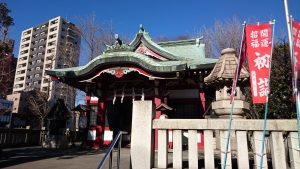 河原町稲荷神社 拝殿