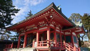野毛六所神社 拝殿